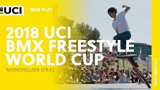 2018 UCI BMX Freestyle World Cup - Montpellier (FRA) / Men Flat thumbnail