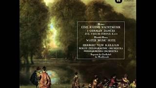 Handel-Harty 'Water Music' Berlin Philharmonic Orchestra,  Karajan 1961/2014