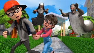 Scary Teacher 3D - Nick and Tani - The Best of troll Miss T - Nick rescues Tani |VMAni Funny|