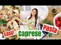 Caprese Pasta   Easy Italian Recipe