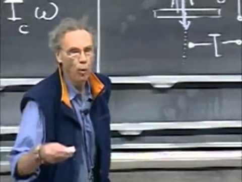 Lec 20: Angular Momentum | 8.01 Classical Mechanics, Fall 1999 (Walter Lewin)