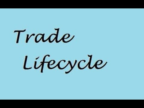 Trade Life Cycle Explained Video 5