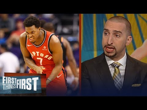 Nick Wright reacts to the Raptors sweep of the Warriors without Kawhi | NBA | FIRST THINGS FIRST