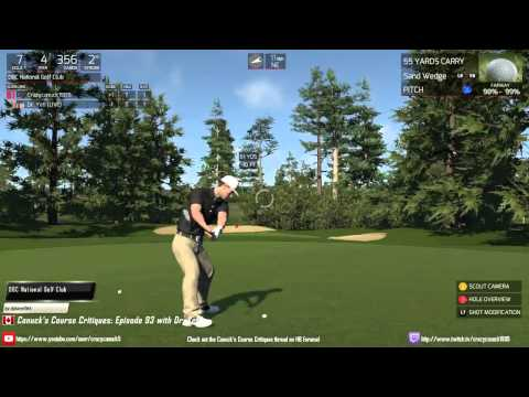 Canuck's Course Critiques: Episode 93 DBC National Golf Club with Dr. Yeti!