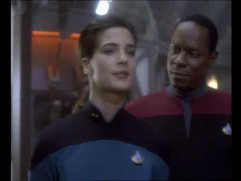 The Arrival Of Dr Bashir Lt Dax Star Trek Deep Space Nine