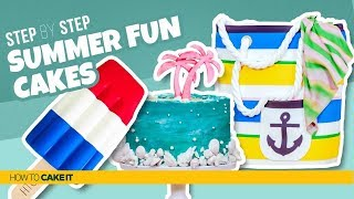 3 Fun Summer CAKES! | Compilation | How To Cake It