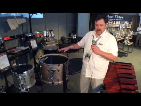 2014 Winter NAMM Pearl Multi-Fit Bass Drum Leg System