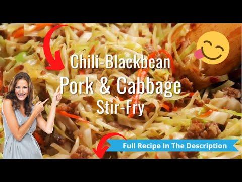 keto-recipe---chili-blackbean-pork-&-cabbage-stir-fry-keto-recipe