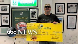 New Jersey handyman comes forward as $273M lottery winner