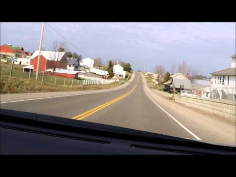 Riding thru Beautiful Holmes County, Ohio Amish Country backroads relaxing sleep music