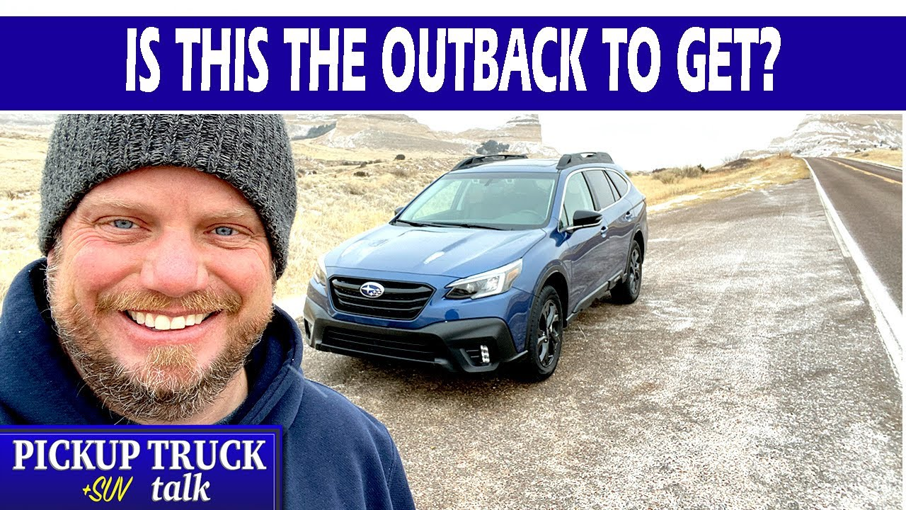 Another Solid Hit with the 2021 Subaru Outback Onyx, Here's Why