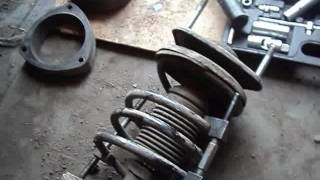 Замена и прокачка стоек  Митцубиси Лансер Цедиа GDI 4WD (MITSUBISHI LANCER CEDIA)