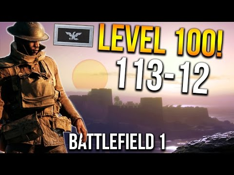 BATTLEFIELD 1 MY LEVEL 100 GAME! 113 KILLS   BF1 Scout Gameplay