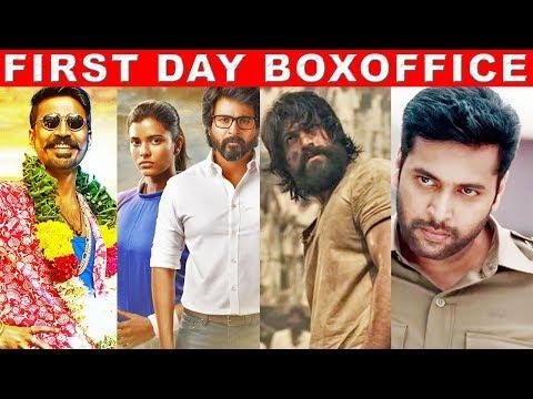 Who is NO1? Maari 2 VS Kanaa VS Adanga Maru - First Day Boxoffice Collection   Dhanush