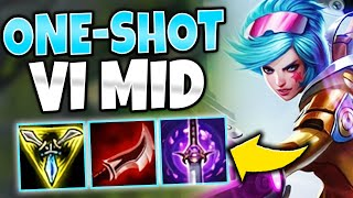 LAND ONE Q = GET ONE KILL! ASSASSIN VI MID IS LETHAL!  - League of Legends