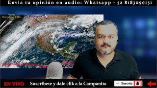 FRENTE FRÍO 12 PARA MÉXICO - CAOS EN FRANCIA - 14 MIL NIÑOS DETENIDOS Noticias Pepe En Vivo