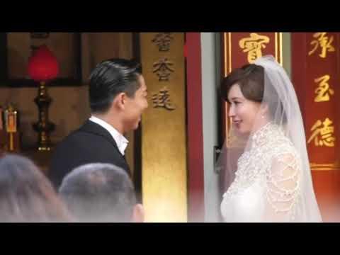 林志玲貼心用日文念誓詞 男方聽到這一句竟哭得像個小孩子 - YouTube