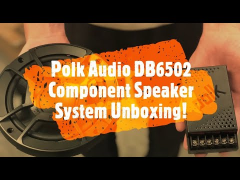 "Polk Audio DB6502 6.5"" Component Speaker System Unboxing - Step-up Your Audio!"