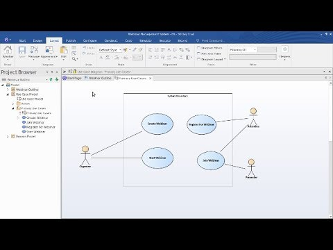 Modeling Basics – Creating Your First Model with Enterprise Architect