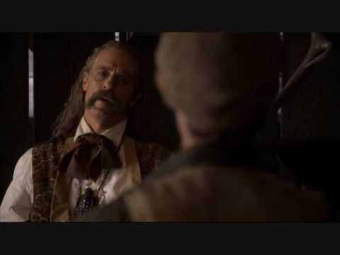 Wild Bill Hickok and Jack McCall Play Cards - Deadwood