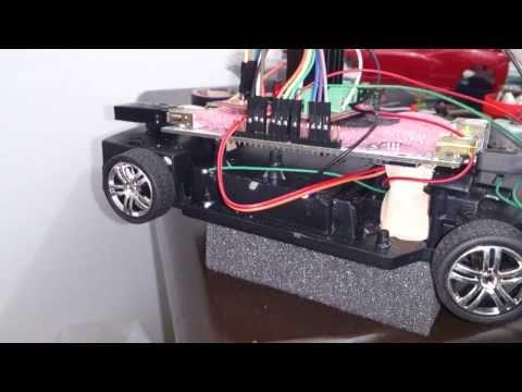 pcDuino RC car test