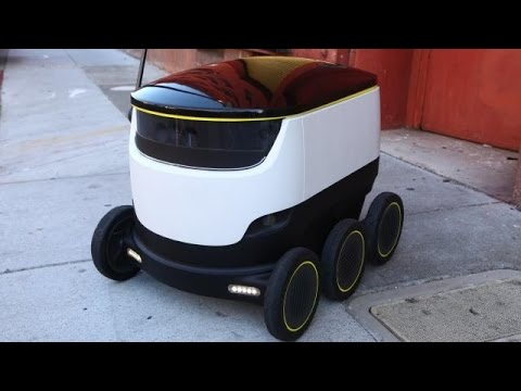Starship Robot Delivers Packages Locally