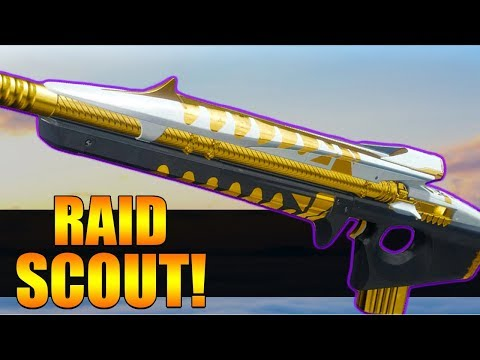 The New Raid Scout Rifle! Destiny 2 | Conspirator Scout Rifle!