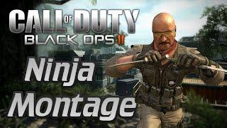 Call of Duty: Black Ops 2 - Ninja Montage #2 - (Funny moments, trolling, ninja defuse & More)!
