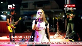 Video Eny Sagita - Kalah Cepet ( Official Music Video  ) download MP3, 3GP, MP4, WEBM, AVI, FLV Maret 2018