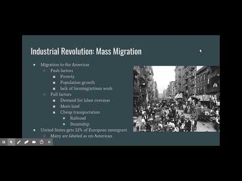Mass Migrations Flipped