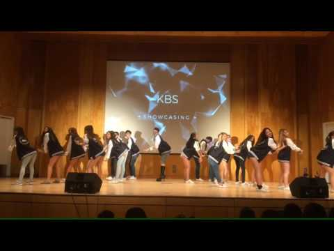 KBS (Korean.Bae.Squad) showcasing dance performance at Stony Brook University