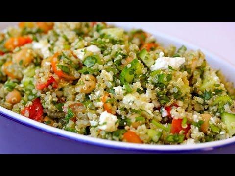 Quinoa Tabouli Salad Recipe | Clean & Delicious