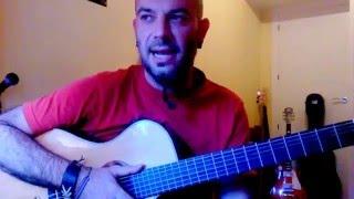 Como tocar PLAYA GIRON en GUITARRA; Tutorial Karma Guitar Sílvio Rodriguez