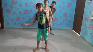 Jannu meri jan by sunny,  kalpana,  and nannu in dance practice,  advait dance academy 123