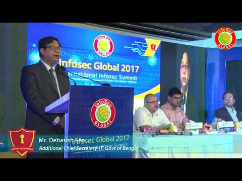 Welcome Address By Mr. Debasish Sen - Infosec Global 2017
