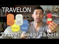 TRAVELON TRAVEL SOAP SHEETS // TSA Approved Body Wash