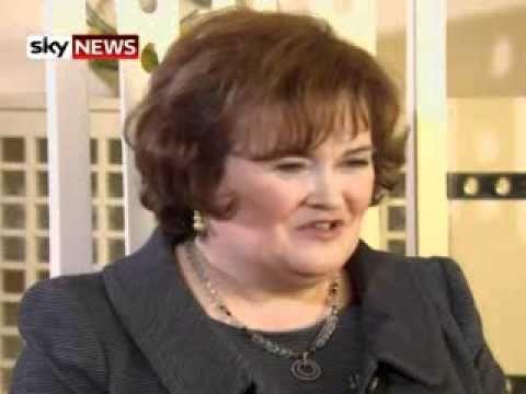 Susan Boyle Speaks To Sky News Ahead Of Pope Visit