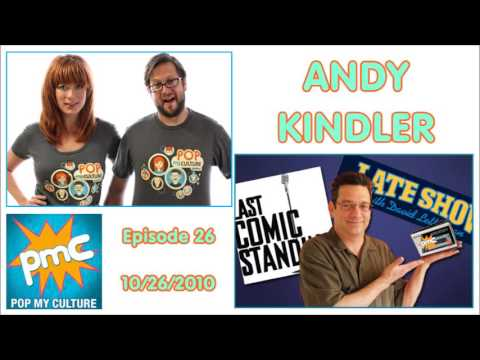 Andy Kindler - Pop My Culture #26 - 10/26/2010