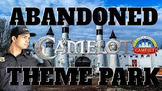 ABANDONED THEME PARK CAMELOT UK SECURITY EVERYWHERE [Dan's VIEW] URBEX