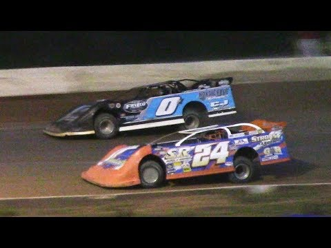 ULMS Super Late Model Heat Two | Hesston Speedway | 7-1-17