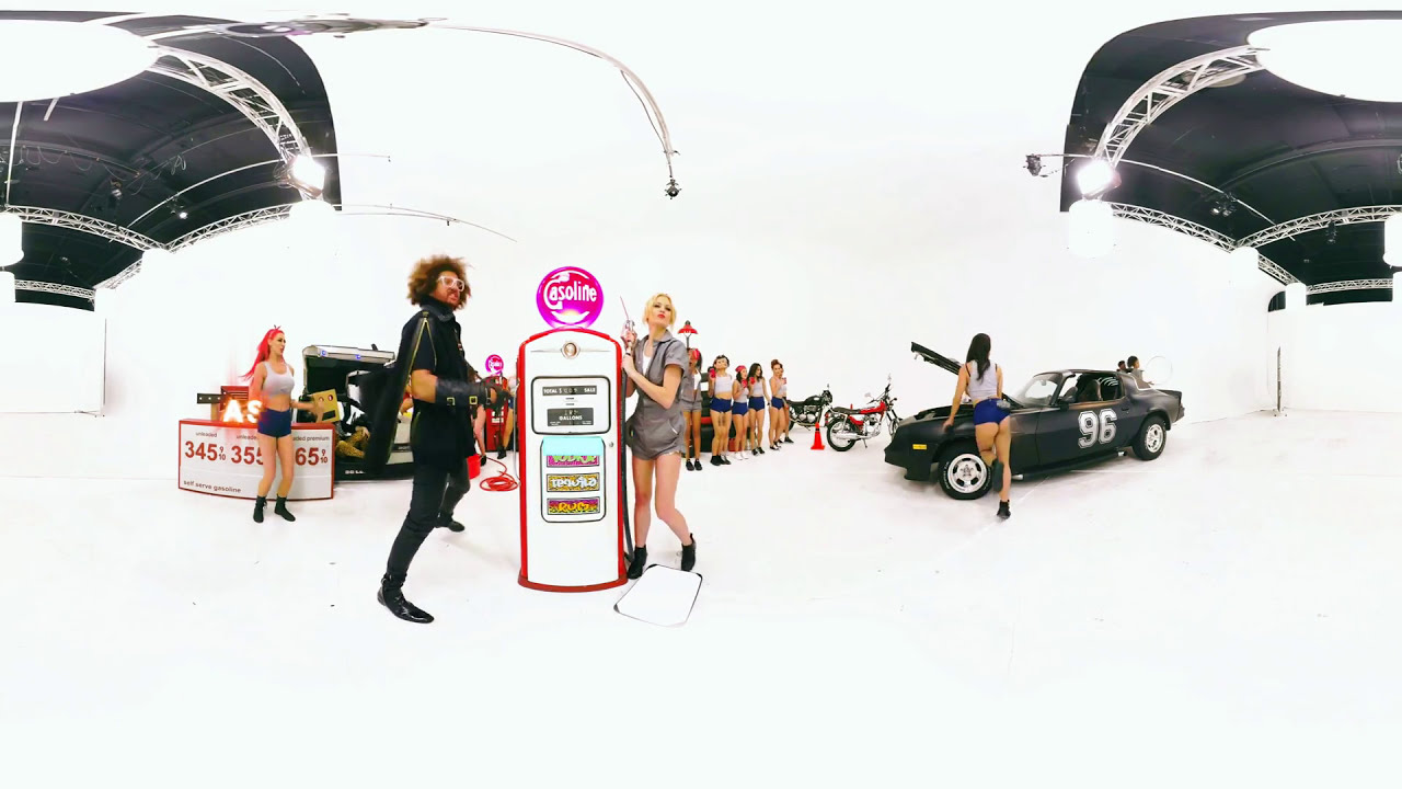 redfoo - booty man (official 360° music video) - youtube