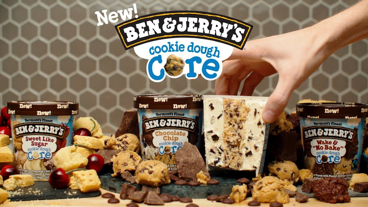 Introducing Cookie Dough Cores Ben Jerry S Youtube