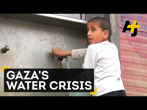 The Shortage Of Clean Drinking Water Is Worsening In Gaza