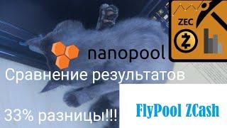 Майнинг, март 2018. ZEC. Сравнение Fypool и Nanopool Zcash. Я в АХУ...!!!!!