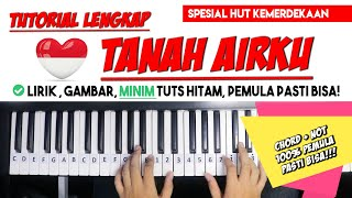 Spesial Kemerdekaan ke-75 RI | TUTORIAL PIANO TANAH AIRKU | Belajar Piano Eps.6