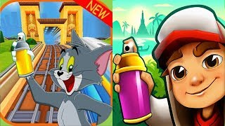 Subway Surfers ZOMBIE JAKE vs Subway TOM and JERRY vs 3D TOM Gameplay HD