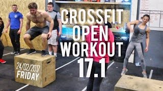 CROSSFIT OPEN WORKOUT 17.1 - WELL THAT HURT