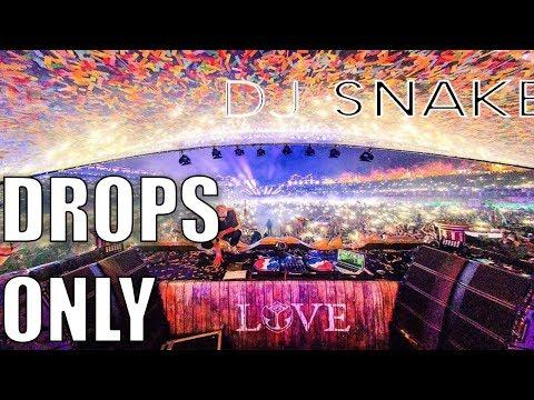 Dj Snake - Drops Only Tomorrowland 2017