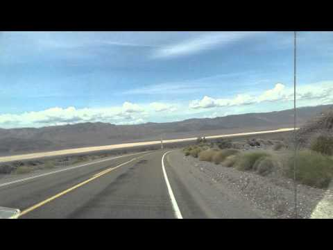 Driving in Nevada Desert, USA / 05.2011/ 1080p HD