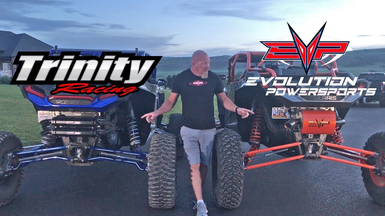 evolutions powersports and trinity racing exhaust systems
